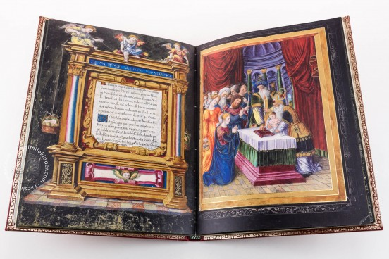 Life of the Virgin Mary, ms. Leber 146 - Rouen Municipal Library (France) − Photo 1