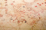 Sea Map of Iehuda Ben Zara, Vatican City, Biblioteca Apostolica Vaticana, Borg. VII − Photo 2