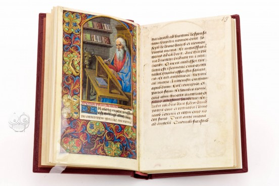 Vatican Book of Hours from the Circle of Jean Bourdichon, Vat. lat. 3781 - Biblioteca Apostolica Vaticana − Photo 1