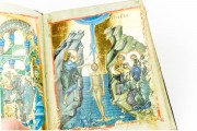 Oxford Menologion, Ms. Gr. th. f. 1 - Bodleian Library (Oxford, United Kingdom), Baptism of Christ