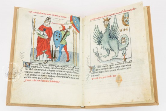 Vaticinia Pontificum, sive Prophetiae Abbatis Joachini , Bologna, Biblioteca dell'Archiginnasio, A.2848 − Photo 1
