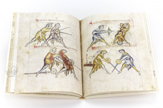 Illuminated Fightbook, London, Royal Armouries, Ms. I.33 − Photo 1