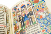 Bedford Hours, Add. Ms. 18850 - British Library (London, UK), Detail of the Vigils of the Death (fol. 120r)