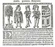 Tragicomedy of Calisto and Melibea and the Old Prostitute Celest R-4870 - Biblioteca Nacional de Espana (Madrid, Spain)