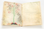 Ramon Llull's Tree of the Philosophy of Love, Palma de Mallorca, Biblioteca Diocesana de Mallorca, F-129 − Photo 11