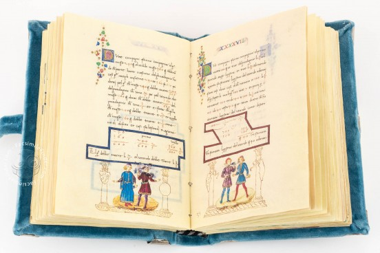 Treatise on Arithmetic of Lorenzo the Magnificent, Florence, Biblioteca Riccardiana, Ms. Ricc. 2669 − Photo 1