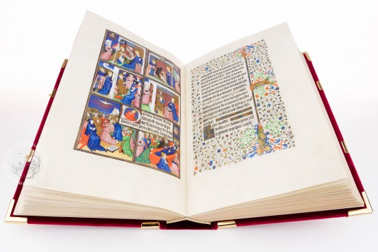 Sobieski Hours, Royal Library at Windsor Castle (UK), A work of art by the Master of the Bedford Hours