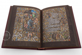Black Prayer Book of Galeazzo Maria Sforza Facsimile Edition