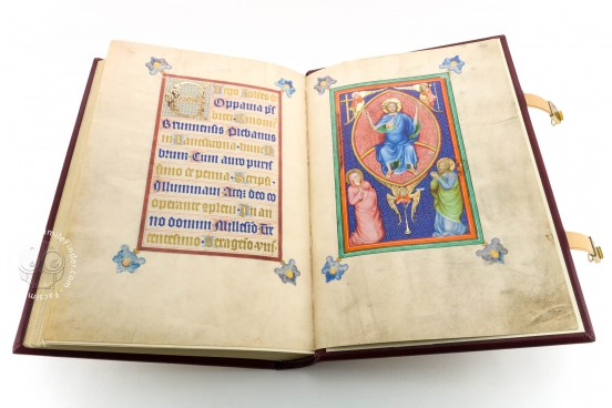 Gospels of John of Opava, Cod. 1182 - Österreichische Nationalbibliothek (Vienna, Austria) − Photo 1