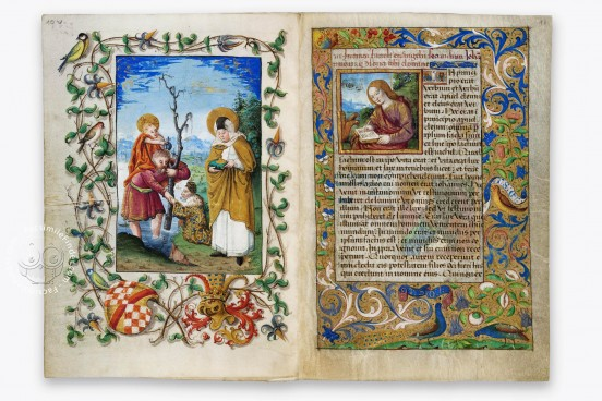 Book of Hours of Christoph I, Margrave of Baden-Baden, Karlsruhe, Badische Landesbibliothek, Durlach 1 − Photo 1