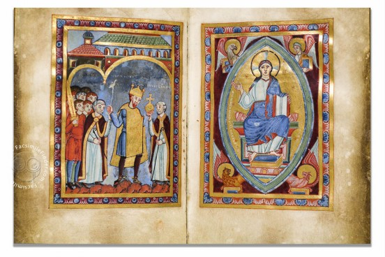 Gospel of Emperor Henry III, Bremen, Staats- und Universitätsbibliothek Bremen, Ms. b. 21 − Photo 1