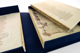 The Canterbury Tales: the New Ellesmere Chaucer Facsimile (Unbou, San Marino, Huntington Library, Art Collections, and Botanical Gardens, EL 26 C 9, All quires of the manuscript are kept in a box and can be used for teaching the structure of the book