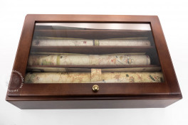 Portolani (set of 3 maps in deluxe wooden case, includes C.G.A.5, Modena, Biblioteca Estense Universitaria, C.G.A.5.d − Photo 5