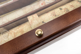 Portolani (set of 3 maps in deluxe wooden case, includes C.G.A.5, Modena, Biblioteca Estense Universitaria, C.G.A.5.d − Photo 7